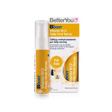 BETTER YOU BETTER YOU BOOST B12 VITAMIN DAILY ORAL SPRAY 25ML