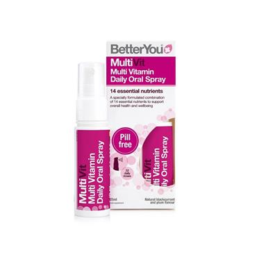 BETTER YOU BETTER YOU MULTIVIT MULTIVITAMIN DAILY ORAL SPRAY 25ML