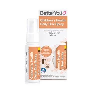 BETTER YOU BETTER YOU CHILDREN'S HEALTH DAILY ORAL SPRAY 25ML