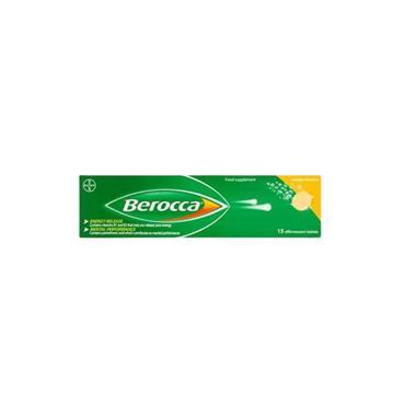 BEROCCA EFFERVESCENT TABS MANGO 15S 758909