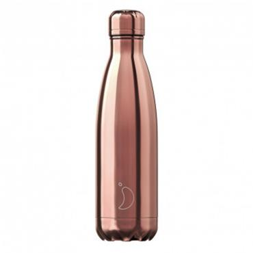 CHILLY'S CHILLY'S ROSE GOLD CHROME 500ML BOTTLE