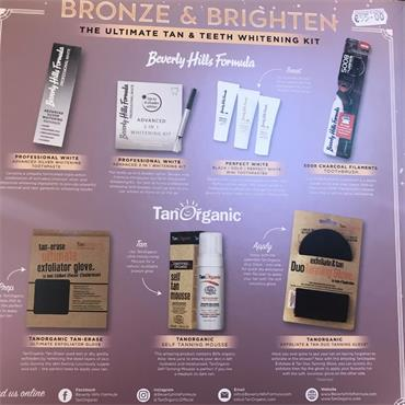 BEVERLEY HILLS BRONZE & BRIGHTEN ULTIMATE TAN & TEETH GIFT SET