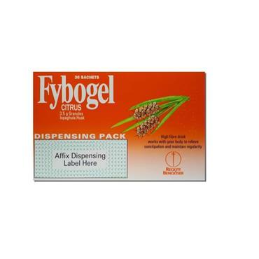 FYBOGEL FYBOGEL CITRUS 3.5G SACHETS 30 PACK